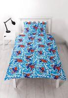 Kids Children Single Duvet Quilt Bedding Cover Set Disney Themed New Characters