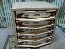 Hillman 5 Drawer Cabinet organizer Socket Shoulder screws slotted set screws USA