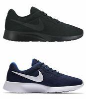 Scarpe Nike Tanjun Uomo Nera o Blu in Tessuto Traspirante Estiva Ammortizzata