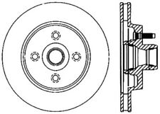 Disc Brake Rotor-C-TEK Standard Preferred Front fits 1987 Ford Thunderbird