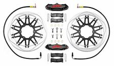 PFM Brakes Race Kit,(disc's, calipers, lines, pads & fittings) non bike specific