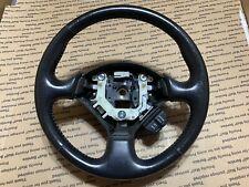 00-03 Honda S2000 Ap1 leather steering wheel 3 Spoke  OEM