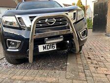 Fits Nissan Navara NP300 Bull Bar Nudge A-Bar 2016+ Steel Chrome EC APPROVED