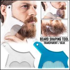 Men Beard Styling Shaping Template Fashion Shaper Stencil Comb Barber Tool