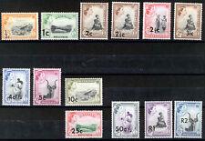 SWAZILAND 1961 DEFINITIVES SG65/77a MNH