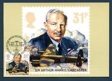 GREAT BRITAIN - GRAN BRETAGNA - Cart. Post. - 1986 - La Royal Air Force (Sir Art
