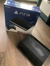 Sony Playstation 3 Super Slim 500GB Black Console *Console And Cords Only*