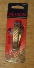 1 clip REVLON GOLD SERIES DUAL ENDED NAIL CLIPPERS 42041 sealed nip