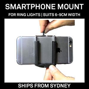 Mobile Cell Phone Smartphone Cradle Holder Mount for Diva Ring Light Studio