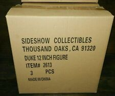 "SIDESHOW DUKE G.I. JOE NEW 12"" FIGURE CASE FRESH NICE BOX FIRST SERGEANT"