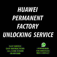 HUAWEI Fusion 2 UNLOCK CODE U8665  FOR  ATT AT&T ONLY OUT OF CONTRACT FAST
