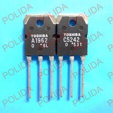 5pairs or 10PCS Transistor TOSHIBA TO-3P 2SA1962/2SC5242 A1962/C5242