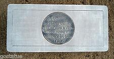 "3/16th"" plastic Dance in the Rain  bench top concrete mould"