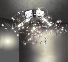 LED Kristall Deckenleuchte Lüster Kronleuchter Wohnzimmer Leuchte Deckenlampe