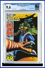 Turok Dinosaur Hunter #18 CGC Graded 9.6 Valiant December 1994 Comic Book
