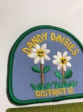 Dandy Daisies Girl Scout Scouting Patch (patch10024)
