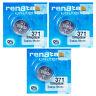 3 x Renata 371 SR920SW Pila Batteria per Orologio Citizen Aqualand Serie 1 Prima