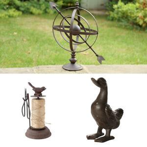 Garden Decorations Duck Ornament Sphere Sculpture Bird Garden Twine Dispenser