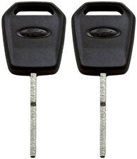 2 Pack - OEM Ford Logo Transponder Chip Key 164-R8128 5923293 4D63 128 Bit