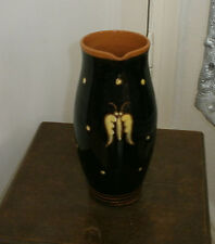 Antike Jugendstil Kunstkeramik Keramik Vase / Krug signiert Artpottery