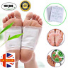 100 Kinoki Detox Foot Patches Pads Body Toxins Feet Slimming Cleansing Herbal