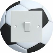 Football Round Shaped Electrical Light Switch Surround Printed Vinyl Sticker