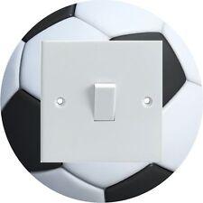 Fútbol Con Forma Redonda Eléctrica Interruptor De Luz envolvente Impreso pegatina de vinilo