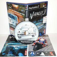 V RALLY 3 V-RALLY - Playstation 2 Ps2 Play Station Gioco Game
