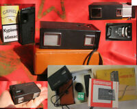 USSR 1970s KGB spy camera Kiev 30 Soviet Union NEW FILM Original manual BOX