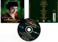 LE FABULEUX DESTIN D'AMELIE POULAIN (CD BOF/OST) Yann Tiersen 2001