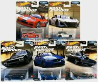 Hot Wheels Fast & Furious Premium Full Force Set of 5 Cars 1/64 956H
