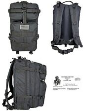 Mission BackPack / Bug Out Bag /Tactical / Military / Survival Gear - BLACK -NEW