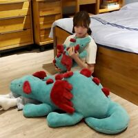 Huggable Dinosaur Plush Toys Dinosaur Stuffed Animal Toy Soft Dragon Doll Gift