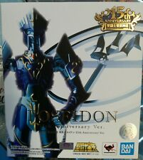 Bandai Myth Cloth 15th Anniversary Poseidon Nettuno God NUOVO