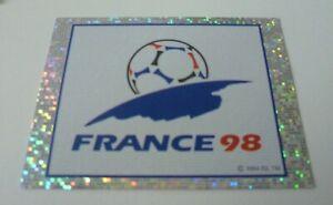 Panini France 98 Sticker France 98 Logo Badge #2 Shiny Foil