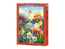 "Castorland Puzzle 1500Pieces Golden Irises 68x47cm 27""x18.5"" Sealed box C-151509"