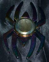 Spider Man Chrome Spiderman Fidget Spinner Metallic Metalic Toys Figet Spiner