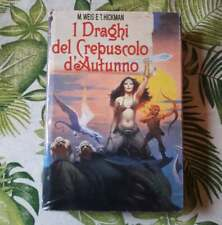 """Weis, Hickman,""""I draghi del crepuscolo d'autunno"""",Dragonlance,CDE"""