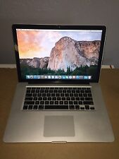 "Apple Macbook Pro GLOSSY LCD 15""A1286 C2D 2.8 GHz 200GB HD 4GB+BATTERY LATE 2008"