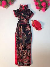 TAKARA JAPAN JENNY BARBIE FASHION TEEN DOLL CLOTHES OUTFIT MANDARIN GOWN ~
