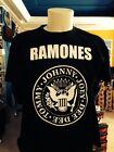 T-SHIRT-maglia-maglietta-felpa RAMONES WHY SO MY HAPPINESS ORIGINALE NUOVA