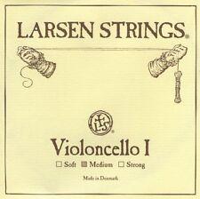 New Larsen 4/4 Cello A String  Medium Gauge - FREE USA SHIPPING