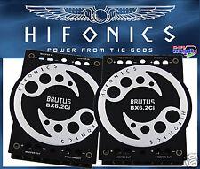 Hifonics Frequenzweichen aus der Brutus Serie Bi-Amping