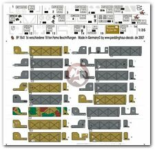"Peddinghaus 1/35 Sd.Kfz.9 ""FAMO"" Half-track Markings WWII (16 versions) 1541"