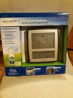 Acurite Weather Station With Morning Noon & Night Forecast Easy Setup New