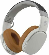 Skullcandy - Crusher Wireless Over-the-Ear Headphones - Gray/Tan