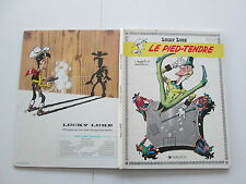 LUCKY LUKE LE PIED TENDRE BE/TBE