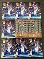 MINT! 9 Card Lot Alonzo Mourning 1992-93 Fleer Ultra #234 RC All-Rookie #6