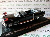 PR10 1/43 norev présidentielle : CADILLAC limousine décapotable Elisabeth II