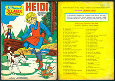 Philippine National Classic Illustrated Komiks HEIDI Comics